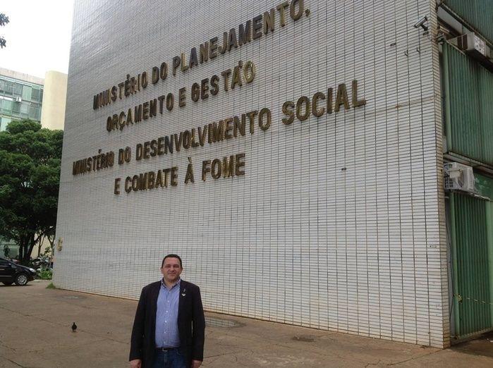 Prefeito de Redenção do Gurgueia, Delano Parente (PP), (Crédito: Reprodução/ Facebook)