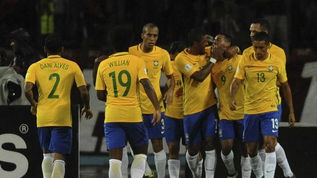 Brasil venceu a Venezuela (Crédito: Globo Esporte)