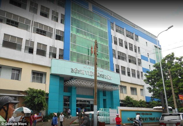 hospital na cidade Ho Chi Minh