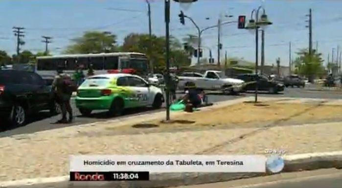 Homem morreu no Balão da Tabuleta (Crédito: Reprodução/TV Meio Norte)