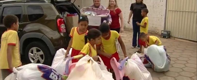 Bandidos roubam brinquedos e escola fica sem o Dia das Crianças
