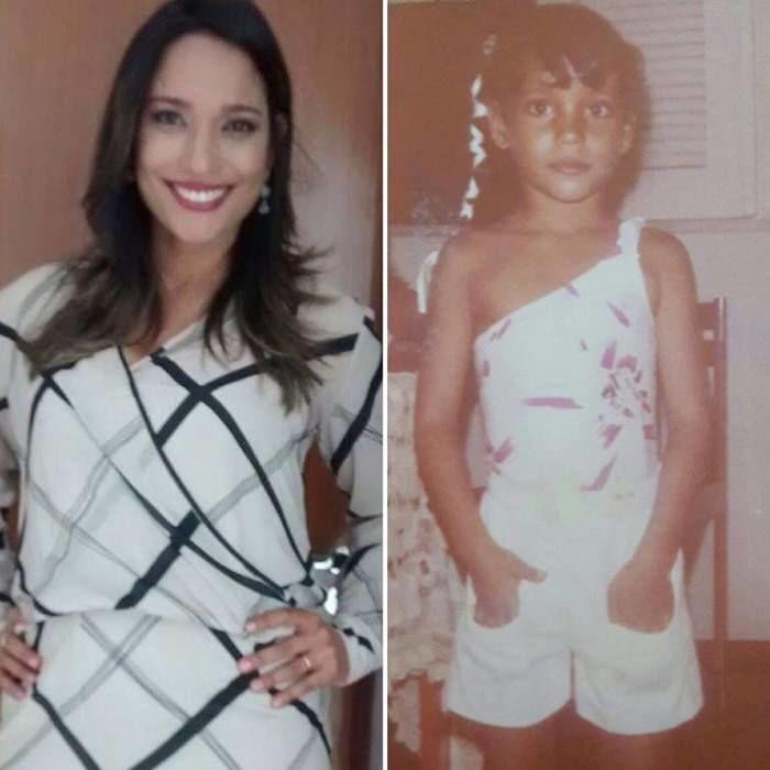 Shirley Evangelista Correia, apresentadora do Jornal Agora (Crédito: Arquivo Pessoal)