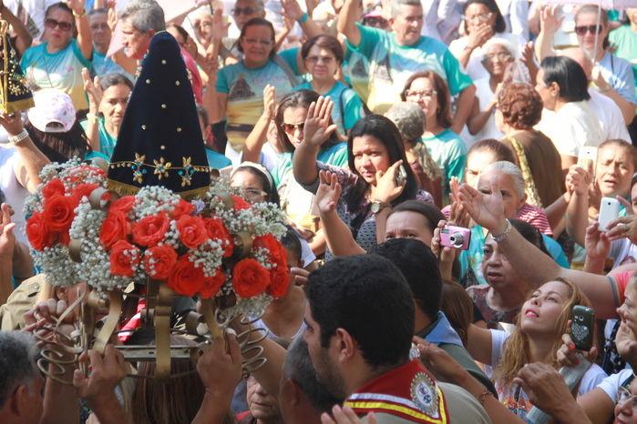 Procissão Nossa Senhora Aparecida (Crédito: Gabriel Paulino)