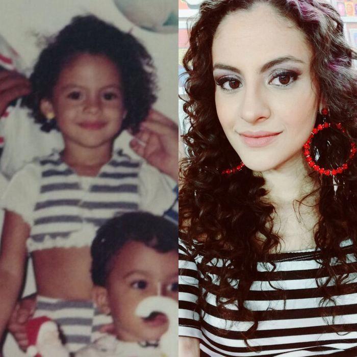 Daniela Oliveira, apresentadora do Baphon TV (Crédito: Arquivo Pessoal)