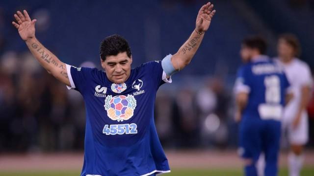 Maradona (Crédito: Reprodução)