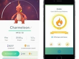 Atualização do Pokémon GO ganha bônus de captura
