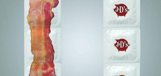 Empresa cria camisinha com gosto de bacon
