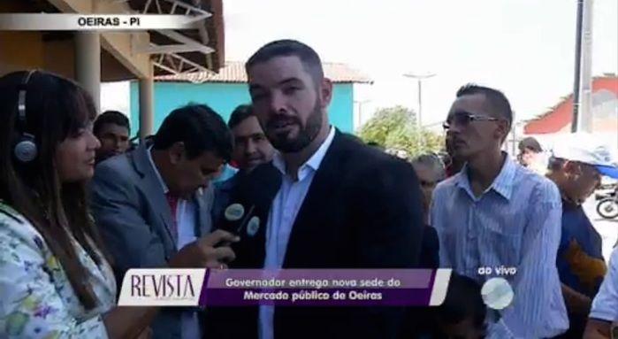 Prefeito Lukano Sá (Crédito: Reprodução/TV Meio Norte)