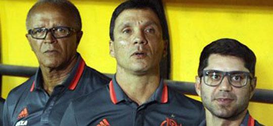 Comissão técnica do Flamengo