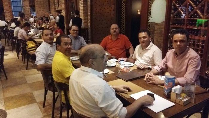Jantar de prefeitos  (Crédito: Reprodução)