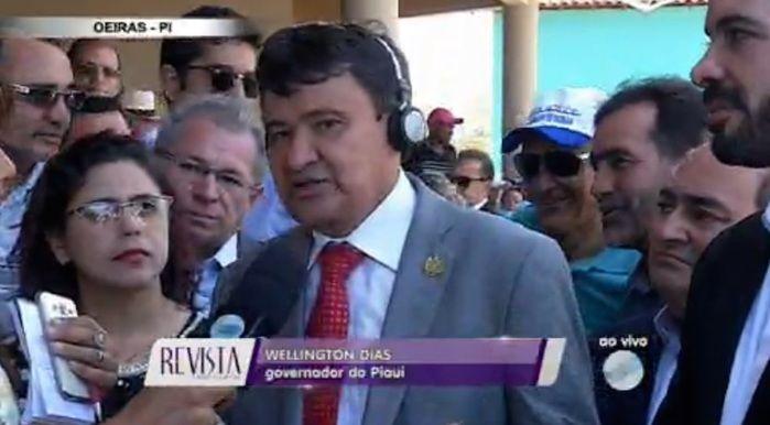 Governador Wellington Dias (Crédito: Reprodução/TV Meio Norte)