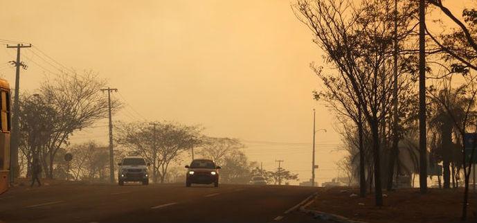 PRF alerta para o perigo da 'cortina de fumaça' nas rodovias