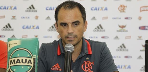 Diretor executivo de futebol rubro-negro, Rodrigo Caetano (Crédito: Gilvan de Souza/Flamengo)