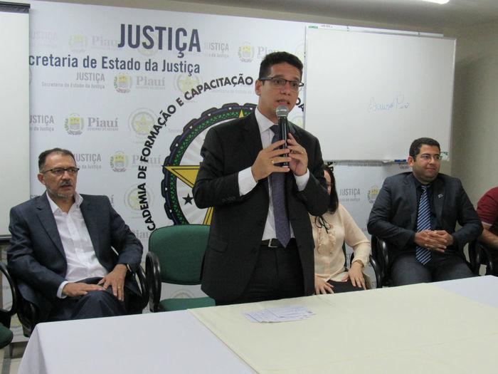 Aula inaugural da especiallização em Gestão Prisional