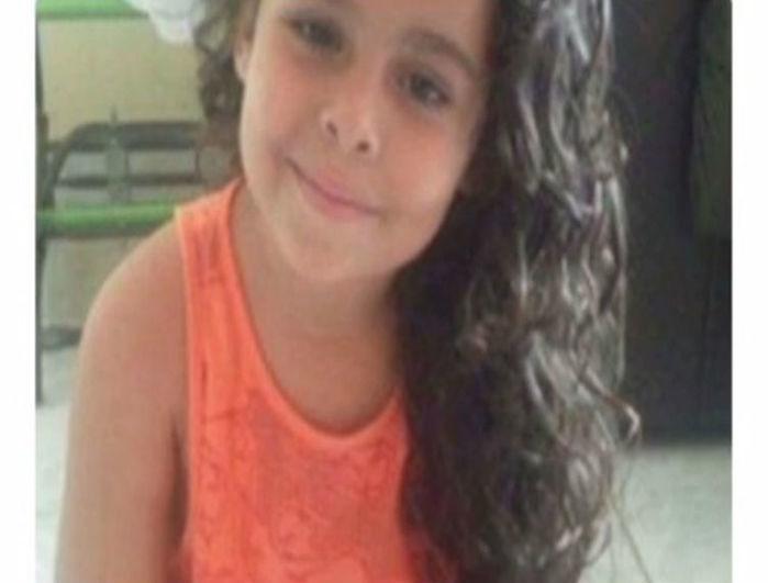 Yasmin de apenas 06 anos de idade (Crédito: Reprodução)