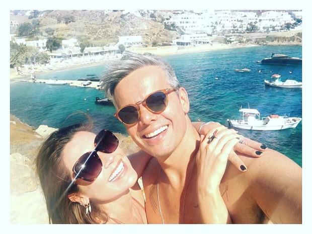 Flávia Alessandra e Otaviano Costa (Crédito: Reprodução/ Instagram)