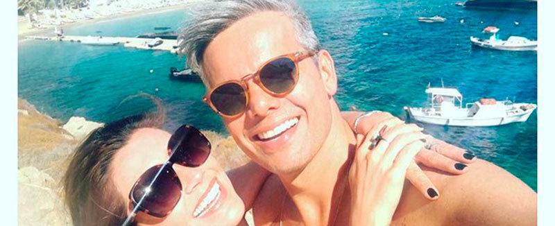 Flávia Alessandra e Otaviano curtem hotel com diárias de R$ 6 mil
