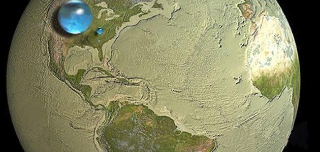A Terra não é o planeta com mais água no Sistema Solar