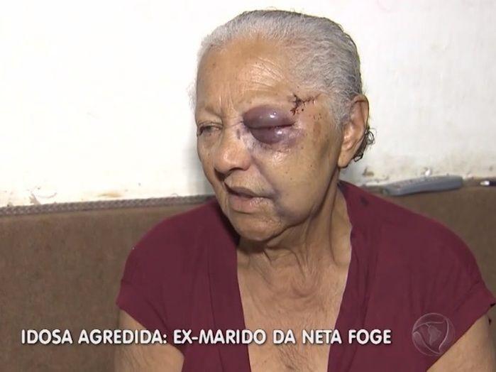Idosa é agredida por ex-marido da neta no interior de São Paulo