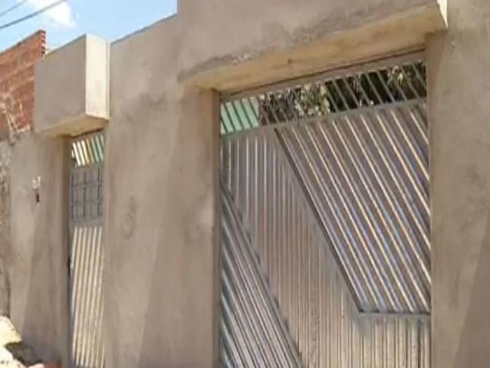 Residência em Timon onde a criança foi baleada (Crédito: Rede Meio Norte)