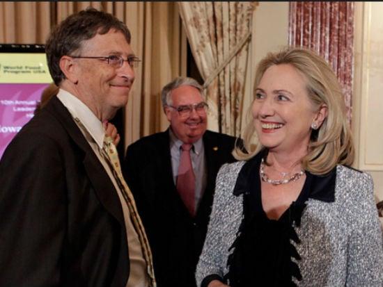 Bill Gates também foi cogitado por Hillary (Crédito: Reprodução)