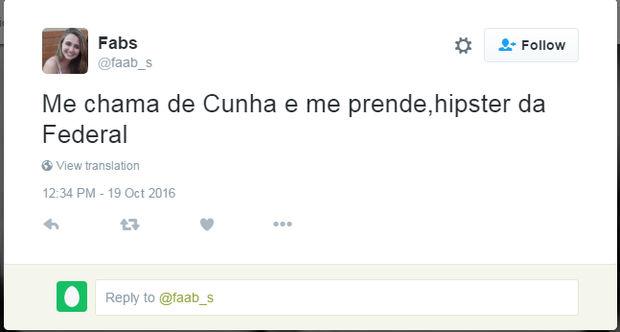 Lucas Valença e já foi encontrado no Instagram pelos 'stalkers' do Twitter.