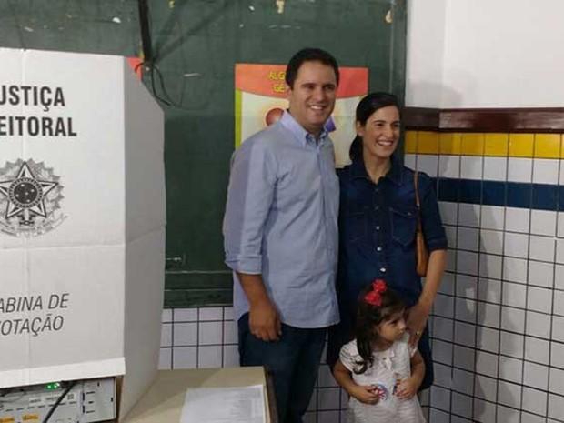 Edivaldo Holanda Junior (PDT) vota em São Luís (Crédito: Reprodução)