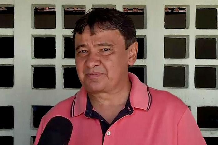 Wellington Dias votou no início da tarde (Crédito: Reprodução MN)