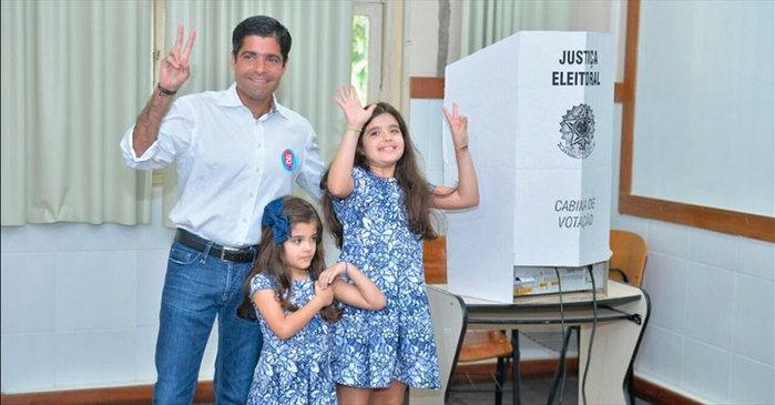 ACM Neto foi reeleito em Salvador (Crédito: G1)