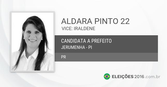 Aldara Pinto (Crédito: Reprodução)