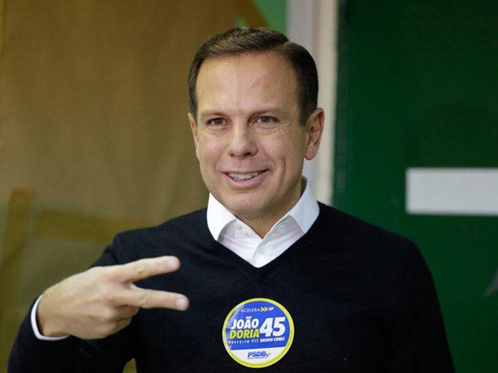 João Doria Júnior é eleito prefeito de São Paulo  (Crédito: Folhapress)