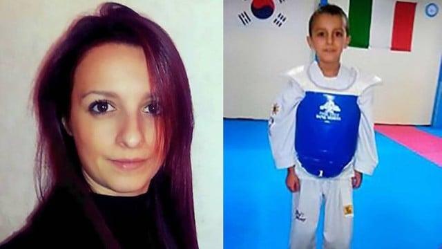 Mulher é acusada de matar o filho (Crédito: Reprodução)