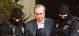 Eduardo Cunha faz exame de corpo de delito em Curitiba