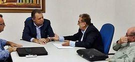 Mão Santa e Florentino se reúnem pela primeira vez após as eleições