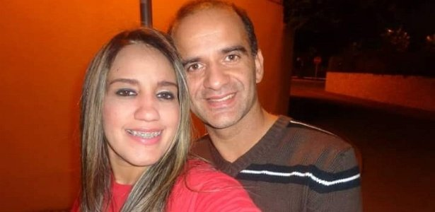 Marcos Campos Nogueira e sua mulher Janaína Santos (Crédito: Uol)