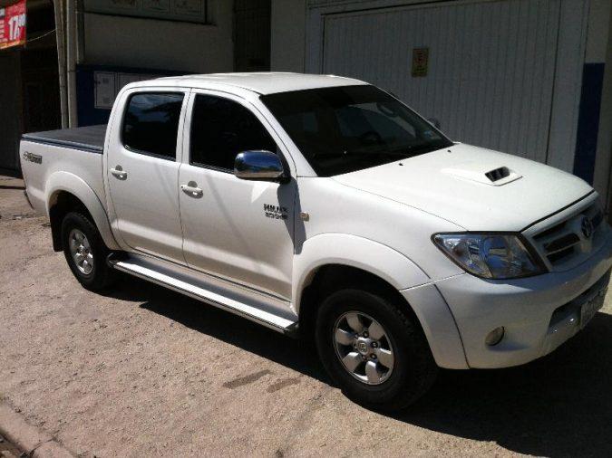 Carro roubado em Picos (Crédito: Riachão Net)