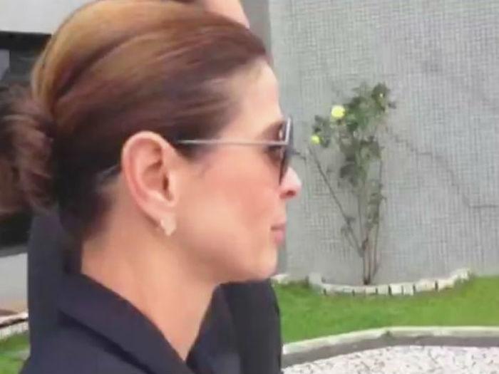 Cláudia Cruz visita marido na Superintendência da PF em Curitiba
