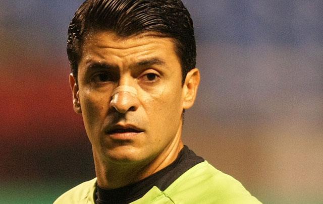 O árbitro Sandro Meira Ricci (Crédito: Divulgação)