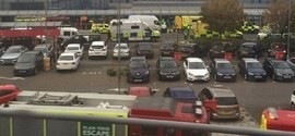 Aeroporto é esvaziado após suposto incidente químico em Londres