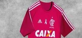 Flamengo jogará com camisa rosa em ação contra o câncer de mama
