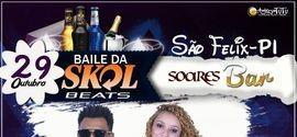 """Maurício José convida todos para o """"Baile da Skol Beats"""""""