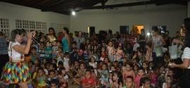 Secretaria de Educação realizou o I Festival Infantil.