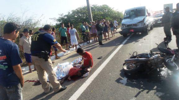 Colisão deixa uma pessoa morta no litoral do Piauí (Crédito: Reprodução)