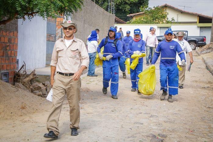 Com início das chuvas prefeitura reforça o cuidado contra a dengue (Crédito: Wilson Filho)