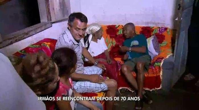 Irmãos que não se viam há 70 anos se reencontram em Minas Gerais