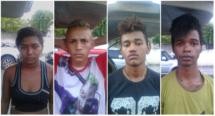 Polícia prende quadrilha suspeita de tráfico de drogas (Crédito: Plantão Policial)