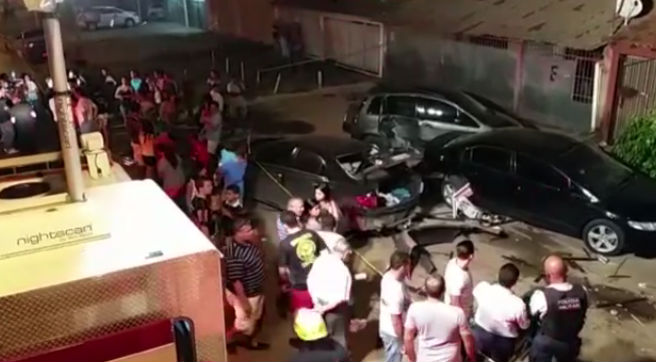 Motorista perde controle de carro, invade bar e mata garçom  (Crédito: Reprodução)