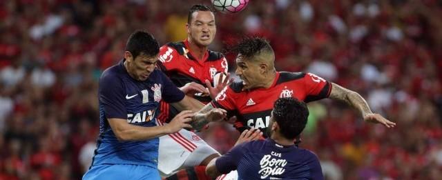 """Após empate, jogadores do Fla ainda acreditam: """"Palmeiras vai cair"""""""
