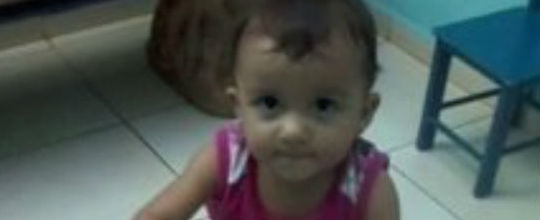 Criança morre afogada em tanquinho de lavar roupas