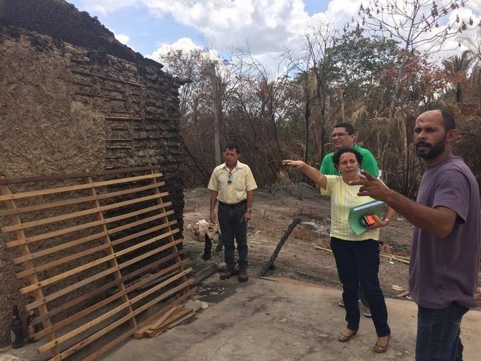 Casas do povoado São Vicente serão reconstruídas (Crédito: Reprodução)
